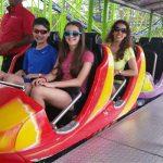 Carnival roller coaster